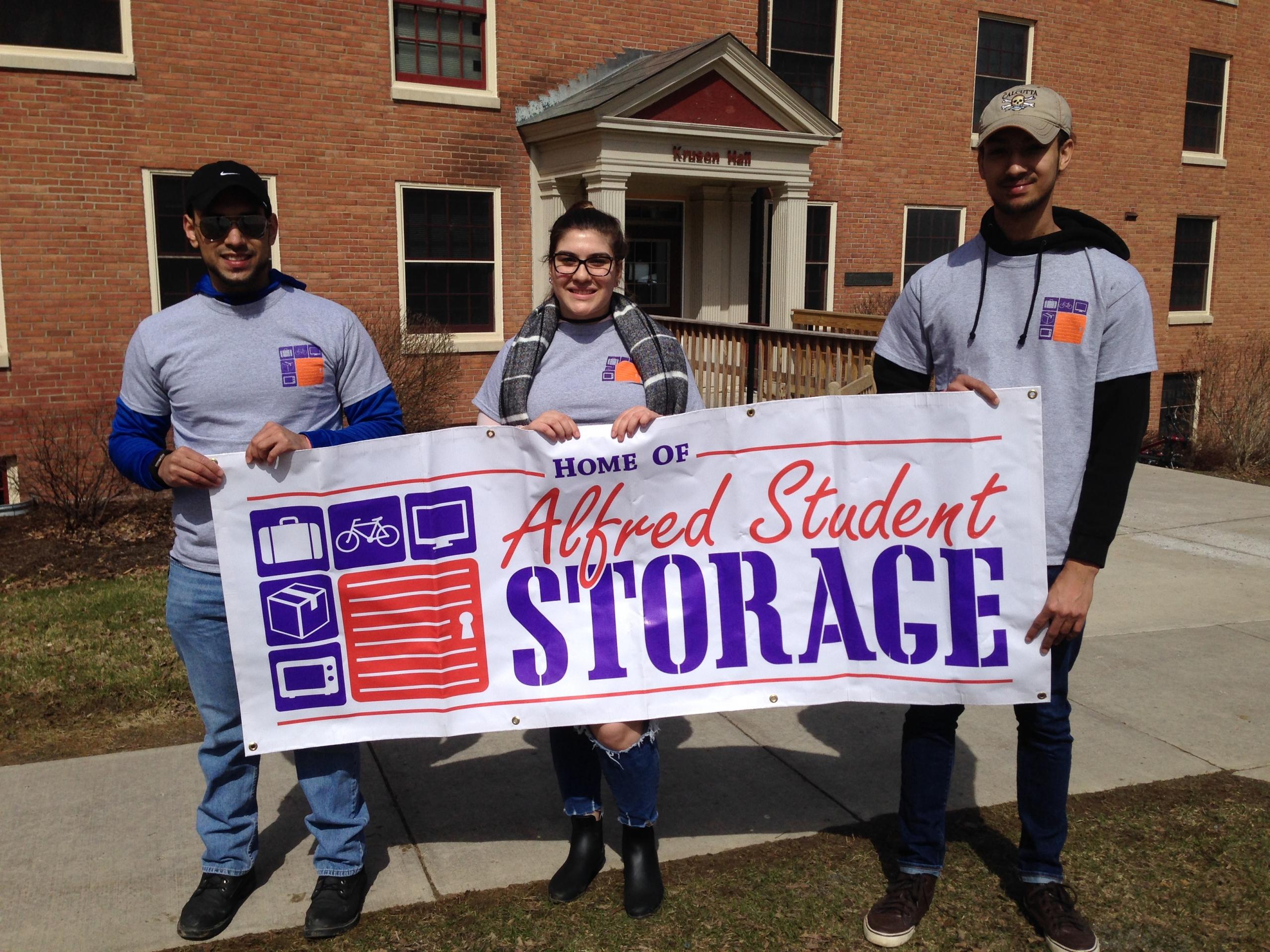 Alfred Student Storage Banner