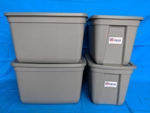 Alfred Student Storage | 4 Tote Storage Kit