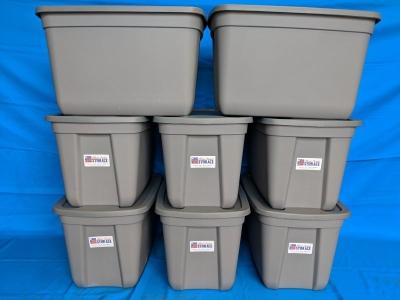 Alfred Student Storage | 8 Tote Storage Kit