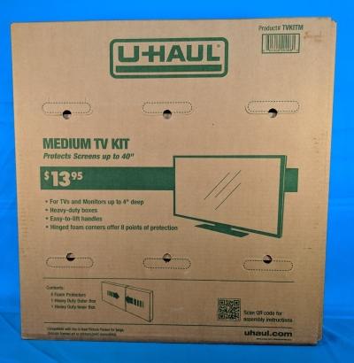 Alfred Student Storage   Medium TV Box Kit